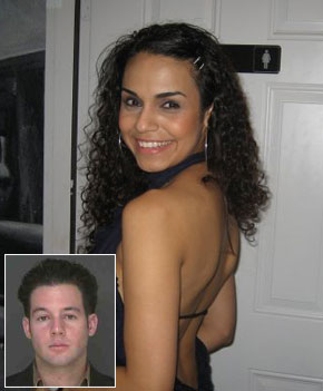 Laura Garza (above), 25, disappeared after allegedly leaving a Chelsea club with Michael Mele (inset), 23, and his pal. Cops yesterday searched a Dumpster that Mele had been seen rummaging through.