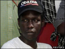 George Obama is the President's younger half-brother