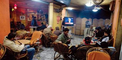 In Gaza, cafe-goers watch the U.S. inauguration with mixed feelings