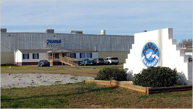 The Peanut Corporation of America plant in Blakely, Ga.
