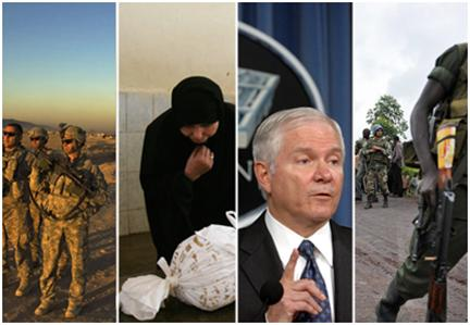 Military conflicts (and potential ones) are among the big stories that were underplayed in 2008