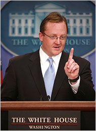 "The chief White House spokesman, Robert Gibbs, said that Tom Daschle ""did not get a signal"" from the Obama administration to withdraw."