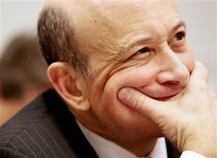 Goldman Sachs & Co. Chief Executive Officer and Chairman Lloyd C. Blankfein testifies on Capitol Hill in Washington, Wednesday, Feb. 11, 2009, before the House Financial Services Committee.