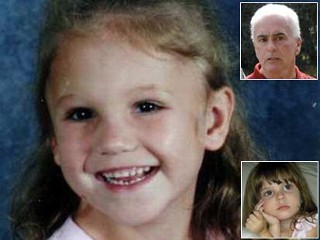 This recent photo released by the Putnam County Sheriff's Office shows missing Florida girl Haleigh Cummings, 5, of Satsuma, Fla. Inset photo shows George Anthony, grandfather of Caylee Anthony. George Anthony traveled to Satsuma to be with Haleigh's family during the search for their daughter.