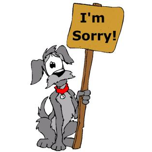 apologize20dog20i20am20sorry20cartoon