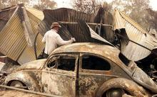 Australia has tough sentences for lighting bush fires, with arsonists facing up to 25 years in prison
