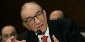 Alan Greenspan former chairman of the Federal Reserve