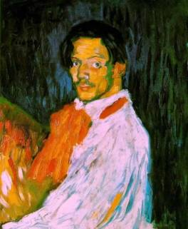 Picasso_SelfPortrait1901