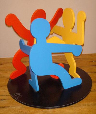 Haring-sculpture
