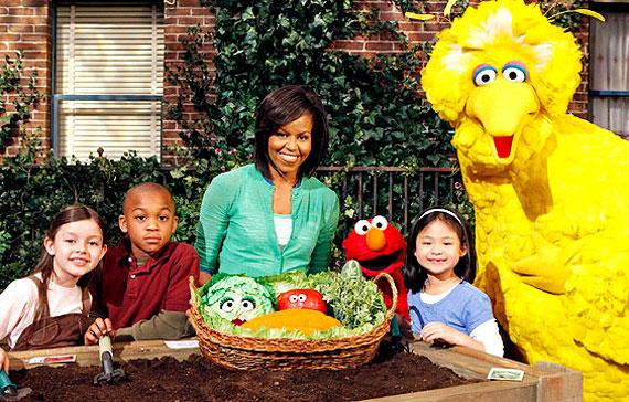 Michelle Obama Sesame Street